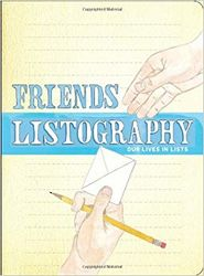 Friends Listography - Our Lives in Lists Journal