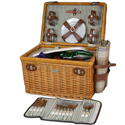 Enchanted Evening Picnic Basket for Four