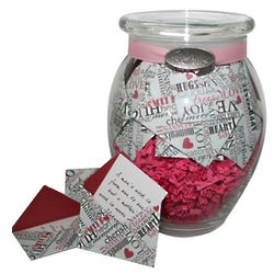 'Daily Sentiments' Jar of Mom Themed Messages in Mini Envelopes