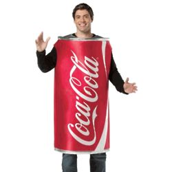Adult Coca Cola Can Costume