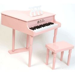 30-Key Pink Classic Baby Grand Toy Piano