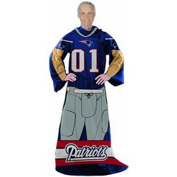 New England Patriots Blanket with Sleeves