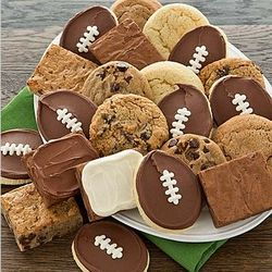 Football Cookie and Brownie Box