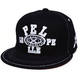 Men's Pelle Pelle Snapback Cap in Navy