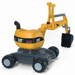 CAT 4-Wheel Digger Toy