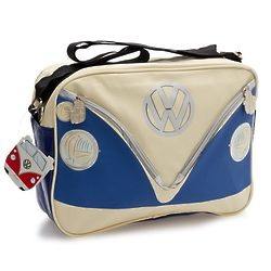 Deluxe Cross-Body VW Blue Shoulder Bag