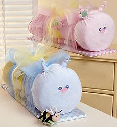 Baby Caterpillar Blanket & Bag Gift Set
