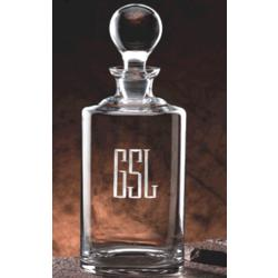 Uptown Personalized 34 oz. Crystal Liquor Decanter