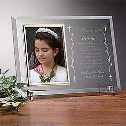 Communion Blessing Reflections Frame - FindGift.com