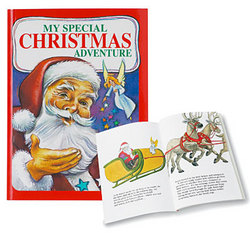 Personalized Christmas Adventure Story Book
