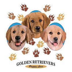 Gold Retriever - Puppy Love T-Shirt