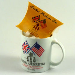 Boston Harbour Tea and Mug