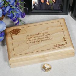 As the Tassel is Turned Graduation Valet Box