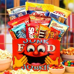 Junk Food Junkie Sweet & Salty Gift Box