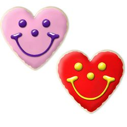 Create Your Own Heart Smiley Gourmet Sugar Cookies