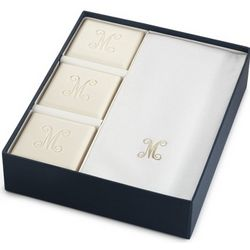 Personalized Eco Luxury Soap and Towel Set