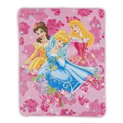 Kid's Disney Princess Fleece Blanket