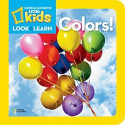 Little Kids Look and Learn Colors Book