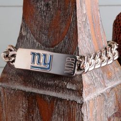 Personalized New York Giants Fan Favorite Bracelet