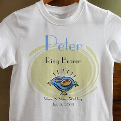 Our Ring Bearer Youth T-Shirt
