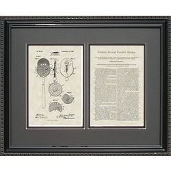 Opthalmoscope Framed Patent Art