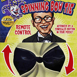 Remote Control Spinning Bow Tie