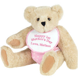 Happy First Mother's Day Pink Teddy Bear