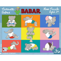 Babar Yoga Floor 36-Piece Puzzle