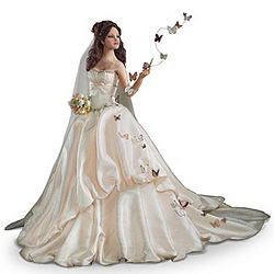 Wishes on Wings of Love Bride Doll
