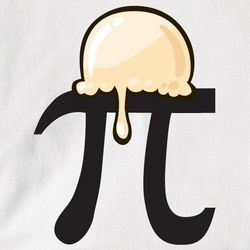 Pi Symbol a la Mode T-Shirt