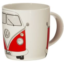 Red Volkswagen Bus Coffee Mug