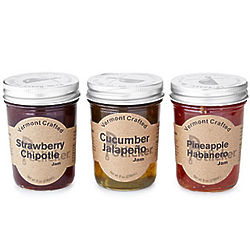 Sweet Heat Pepper Jam Trio