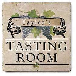 Personalized Tasting Room Tile