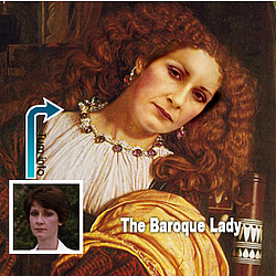 Personalized The Baroque Lady Masterpiece