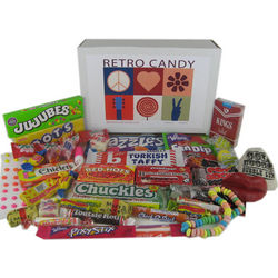 Gift Box of Retro Nostalgic Candy