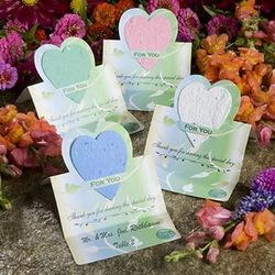 Eco-Friendly Green Wedding Favor