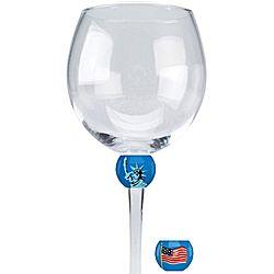 America Wine Glass