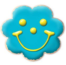 Create Your Own Flower Smiley Gourmet Sugar Cookie
