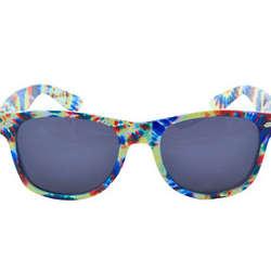 Tie Dye Wayfarer Sunglasses