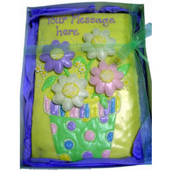 Giant Hand Decorated Flower Cookie
