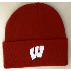 Men's Wisconsin Cuffed Knit Hat