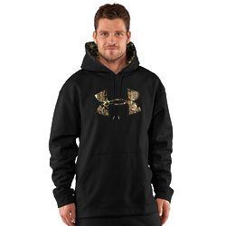 Men's Armour Fleece Tackle Twill Camo Logo Hoodie
