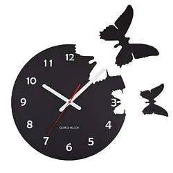 Butterflies Pop Out Clock