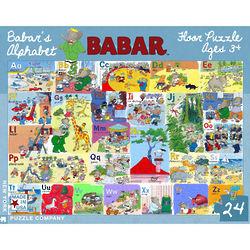 Babar's Alphabet Floor Puzzle