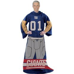 New York Giants Blanket with Sleeves