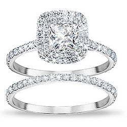 Create Your Personalized Diamonesk Bridal Ring Set