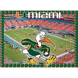 Miami Hurricanes 500 Piece Adult Jigsaw Puzzle