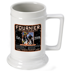 Personalized Hockey Academy Stein