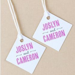 Personalized Favor Gift Tags