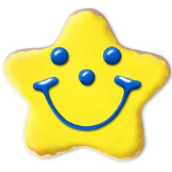 Create Your Own Star Smiley Gourmet Sugar Cookies